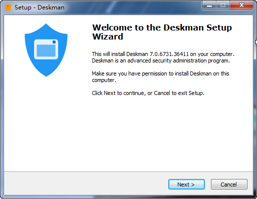 Deskman V7.0.6922.41265 桌面安全管理软件