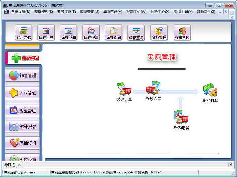 里诺进销存管理软件下载