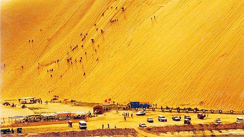响沙湾旅游-响沙湾旅游景点-响沙湾图片-响沙湾攻略
