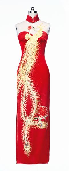 服装款式图手绘礼裙