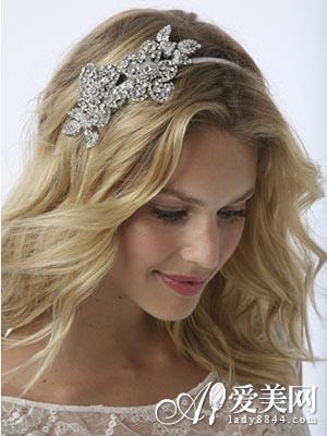 唯美新娘卷发发型 彰显欧式优雅