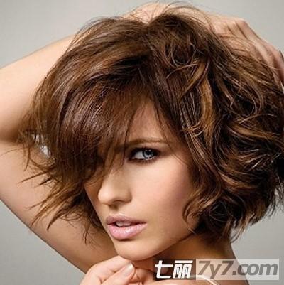 欧美非主流波波头发型图片