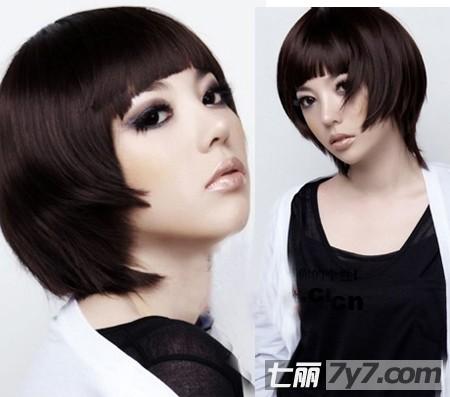 2011年沙宣波波头短发发型图片图片