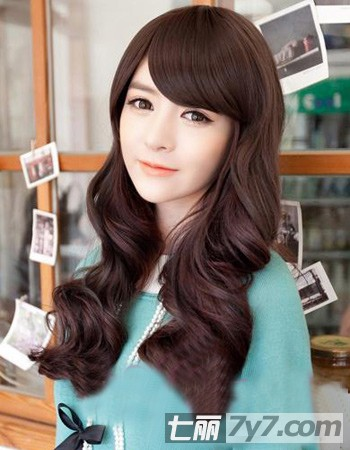 韩国最流行的中长发型分享展示