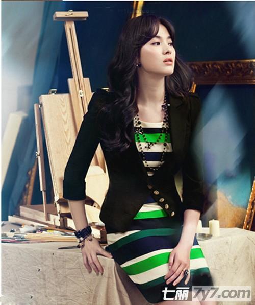 导读:韩国第一素颜美女宋慧乔好久都没出现