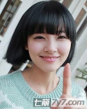 实用查询 生活百科 美容 短发发型 正文   2012最新流行短发发型女 让