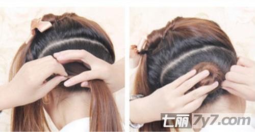 四款马尾辫发型步骤图解教程