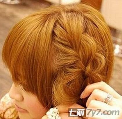 韩式简单发型扎法 2款公主范长发编发教程图片