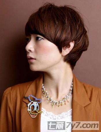 2013最新韩国短烫发发型 打造今年新气象-短发发型图片