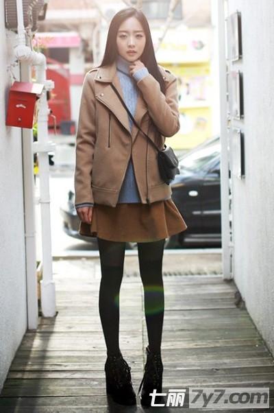 矮个子女生显高服装搭配技巧