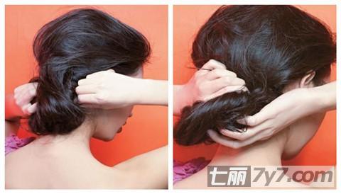 一分钟甜美发型简单扎发步骤 完美打造夏季清凉发型