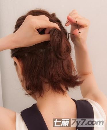 短发发型扎法详细图片 简单步骤打造优雅小女人气质