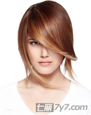 2013发型流行趋势 不对称短发波波头走红
