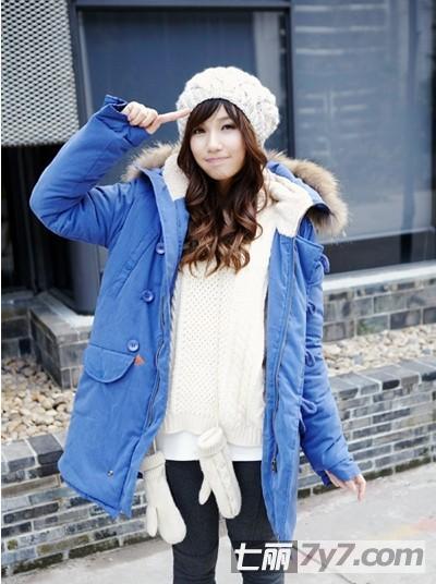 矮个子女生冬季穿衣搭配