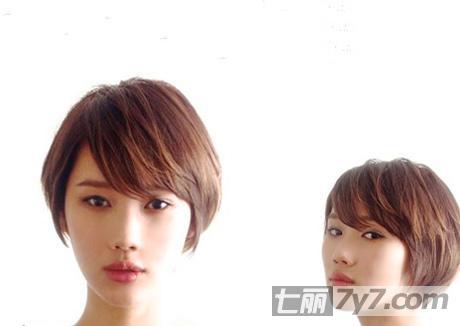2014年最新日系短发发型