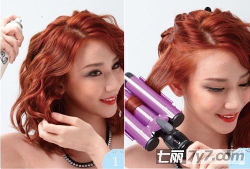 导读:韩国正流行中短发泡面头发型