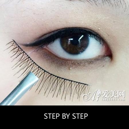 内双单眼皮画眼线速变大眼