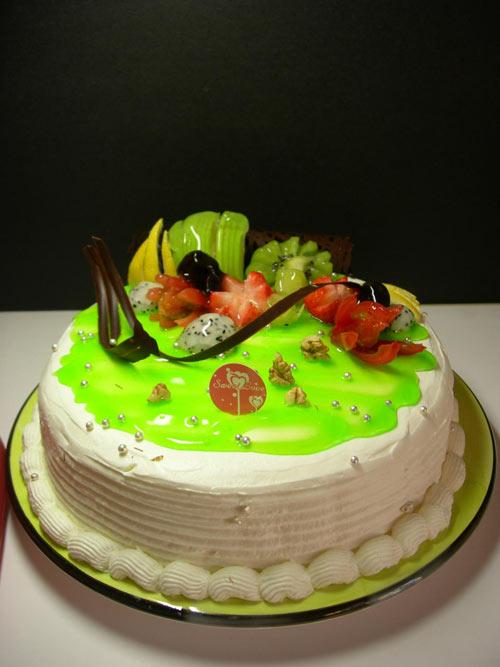 浅海绿湾蛋糕