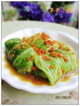 白菜豆腐包