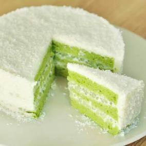 抹茶椰风蛋糕