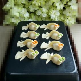 金鱼饺的做法_金鱼饺怎么做好吃