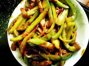 青椒炒猪肚