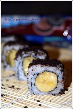 香蕉寿司的做法-家常做法-怎么做-视频-香蕉寿司做法