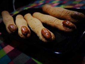 女巫手指饼干