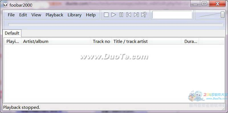 Foobar2000(無損音樂播放器)下載