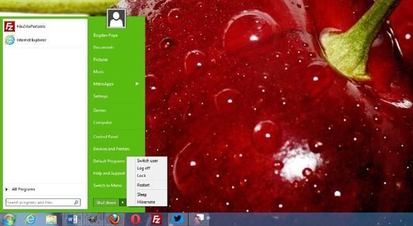 Start Menu 8(Win8开始菜单找回工具)下载