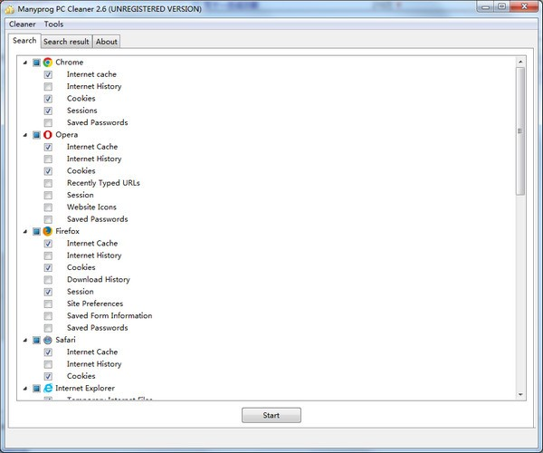 Manyprog PC Cleaner(电脑清理软件)下载