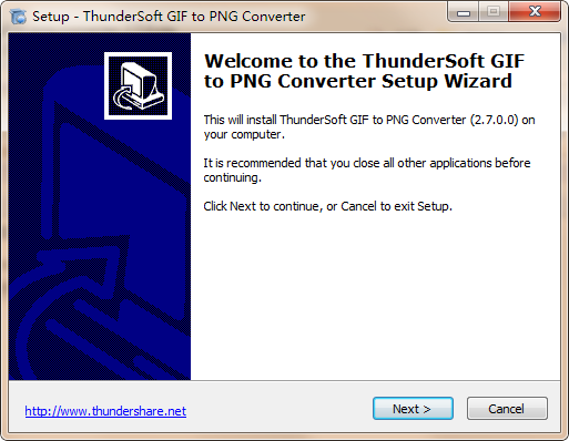 ThunderSoft GIF to PNG Converter(GIF转PNG软件)下载