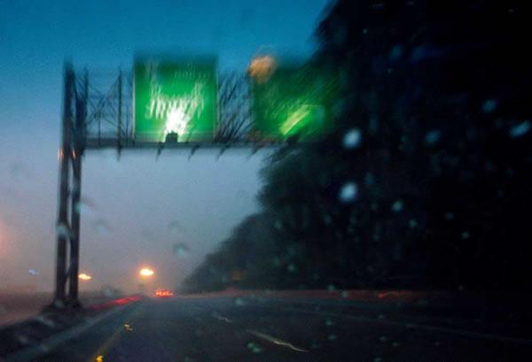 下雨风景视频素材